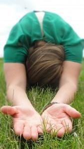 Balans in jou - Robin Schouw in Yoga-houding